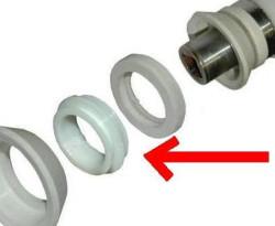 Gelato, samlering til omrører, midterste plast