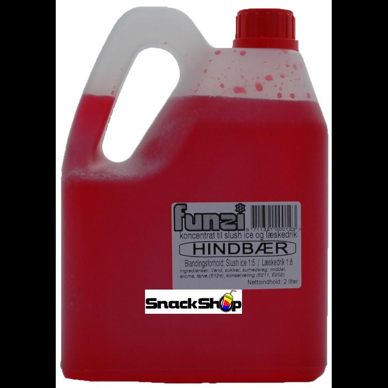 FUNZI Hindbær 2 liter