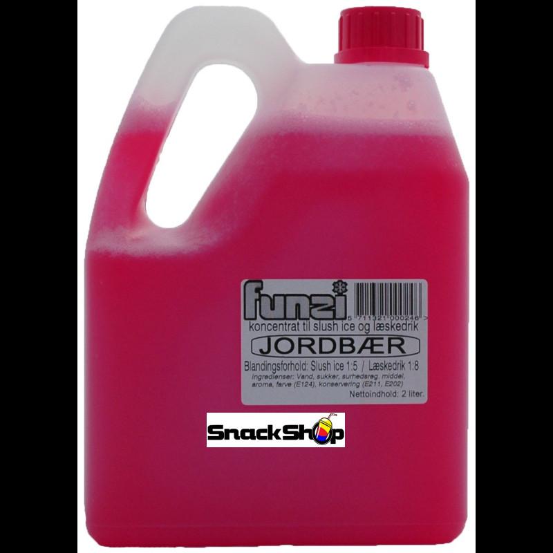 FUNZI Jordbær 2 liter