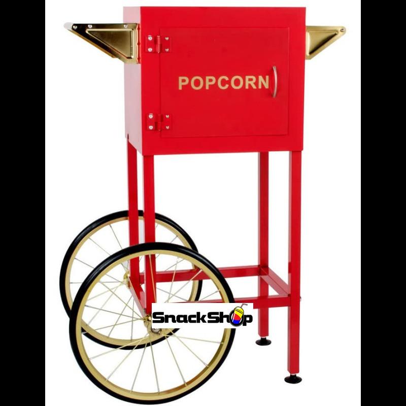 Vogn til popcorn-maskine, rød