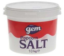 Popcornsalt 10 kg. i spand