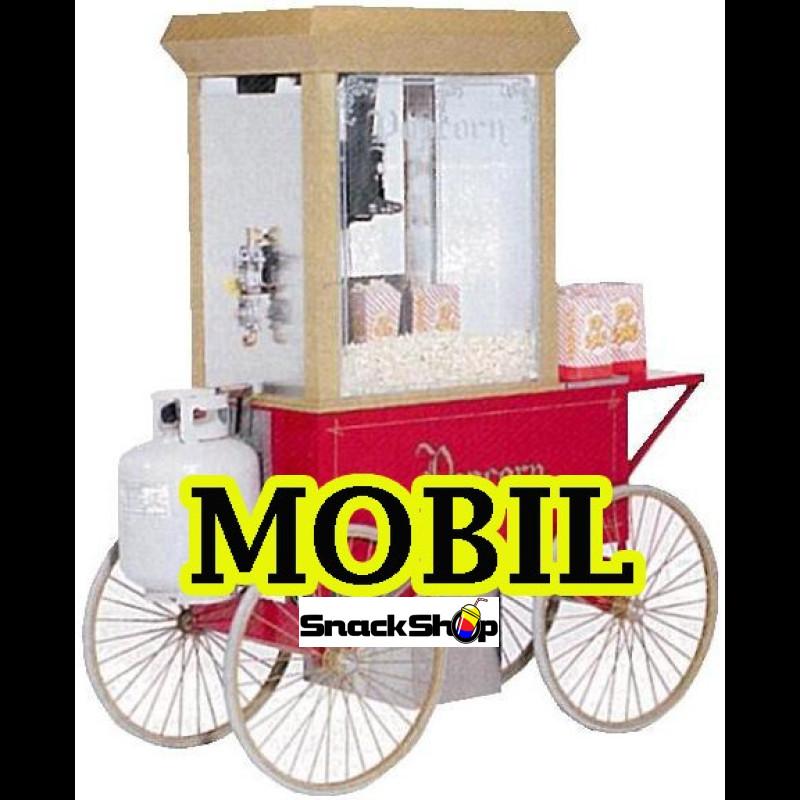 Gold Medal - mobil gas-popper - www.snackshop.dk