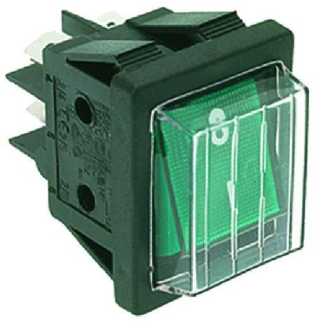 Grøn power switch